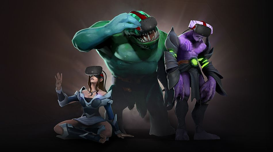 Dota 2 fans now able to watch games via VR