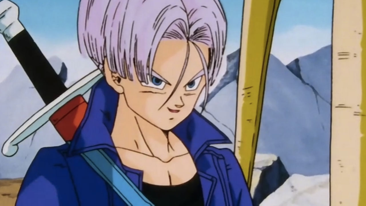 dragon ball future trunks