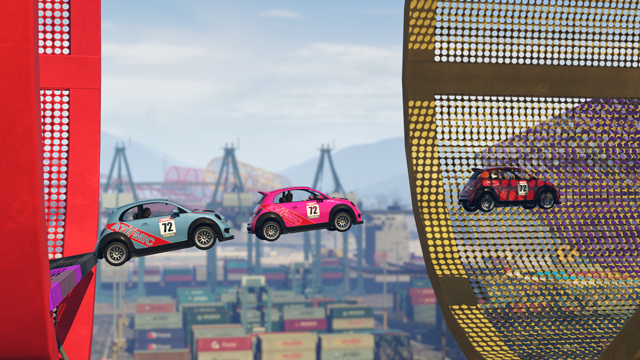 New GTA Online Update Includes Racing and Stunt Driving