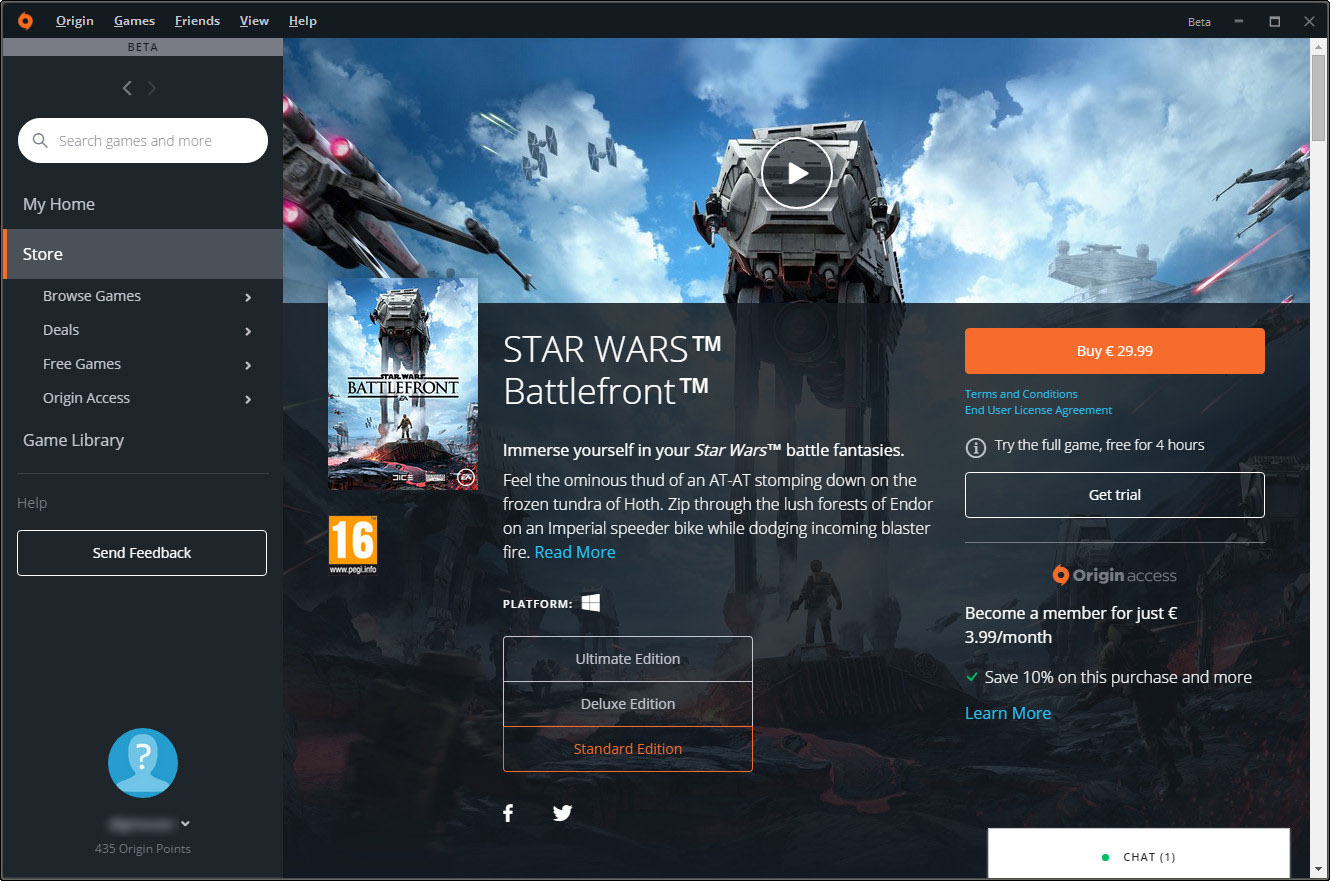 your ea origin client is about to look a whole lot better vg247