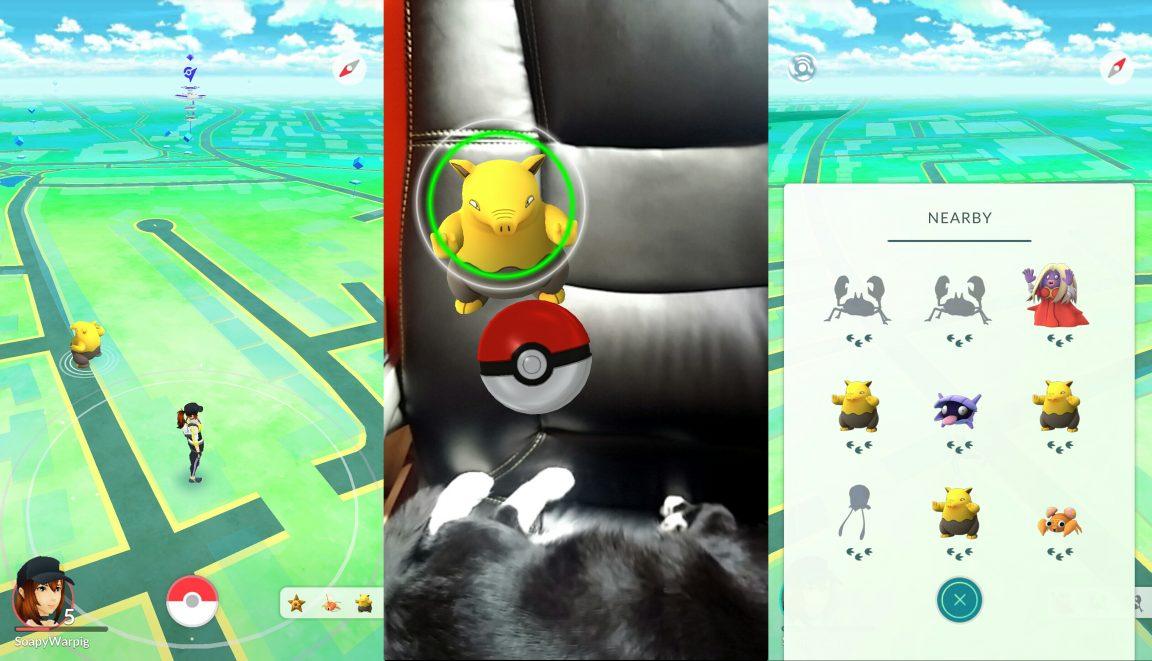 pokemon go guide catching pokemon