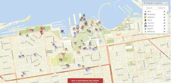 interactive pokà mon go map now allows you to hide pokà mon you don