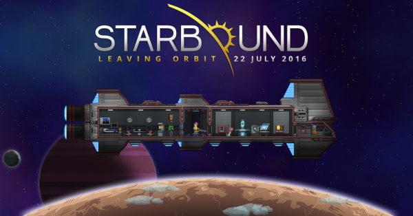 Starbound is coming out of Early Access on July 22