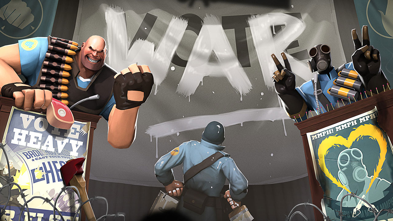 Meat Vs Match Play Team Fortress 2 And Help Heavy Or Pyro Secure A