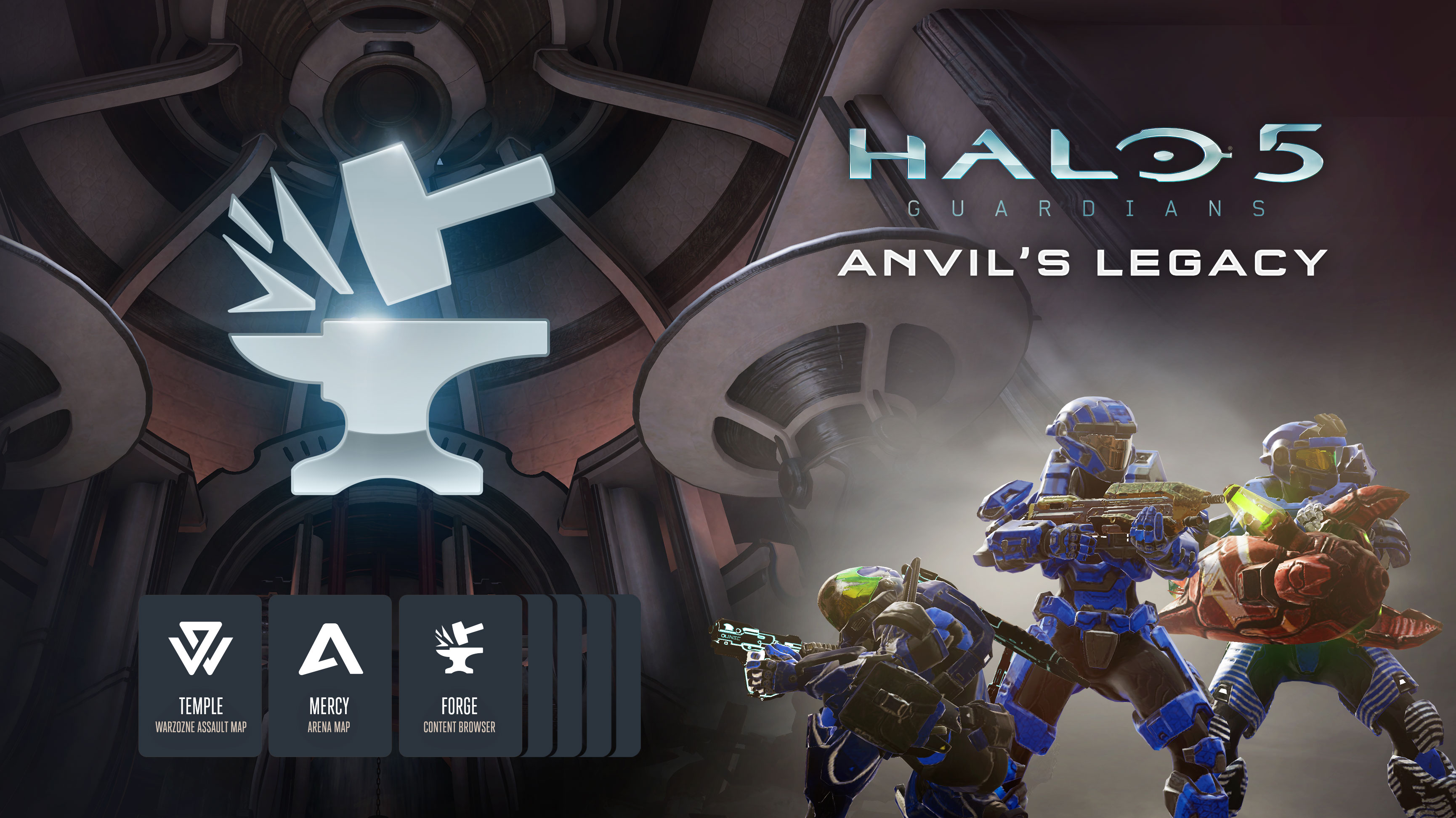 Both Halo 5: Forge for Windows 10 and Halo 5: Guardians