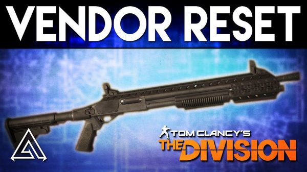 The Division Weekly Vendor reset: Custom M870 MCS and Military MK26
