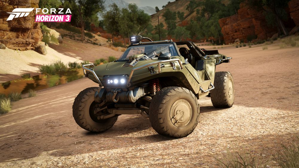 Forza Horizon 3 is gold: PC specs and Achievements listed, and a Warthog is included for Halo players