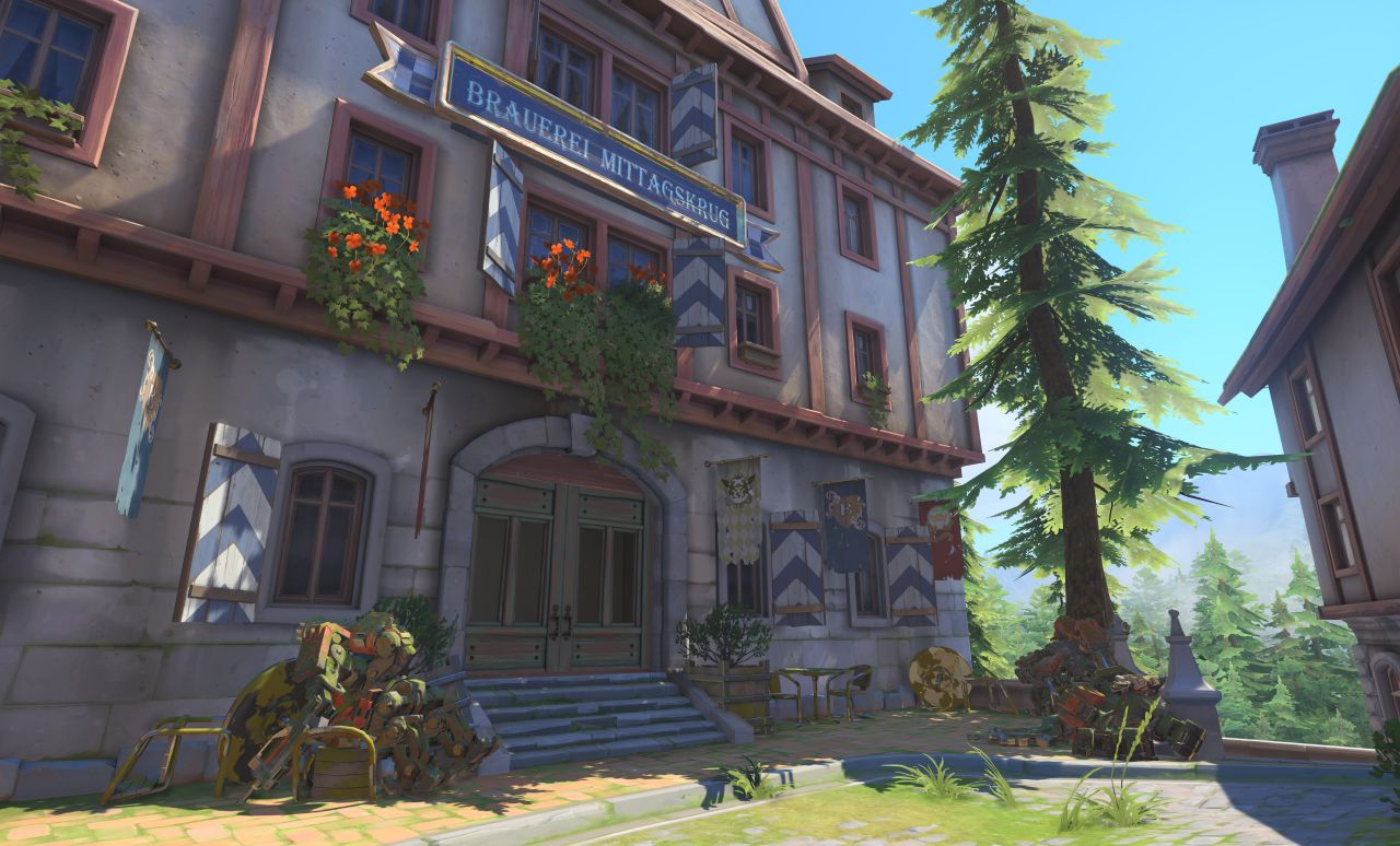 Overwatch's new map is set in Germany