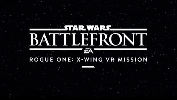 Star Wars Battlefront X-wing VR Mission now has a more complex name