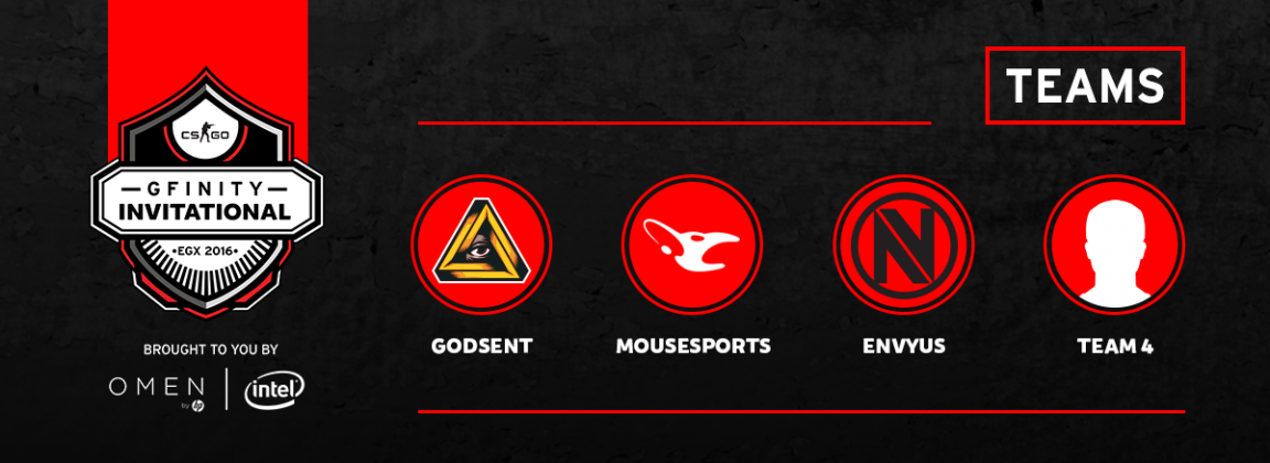 Gfinity Invitational - Team Announcement Thurs