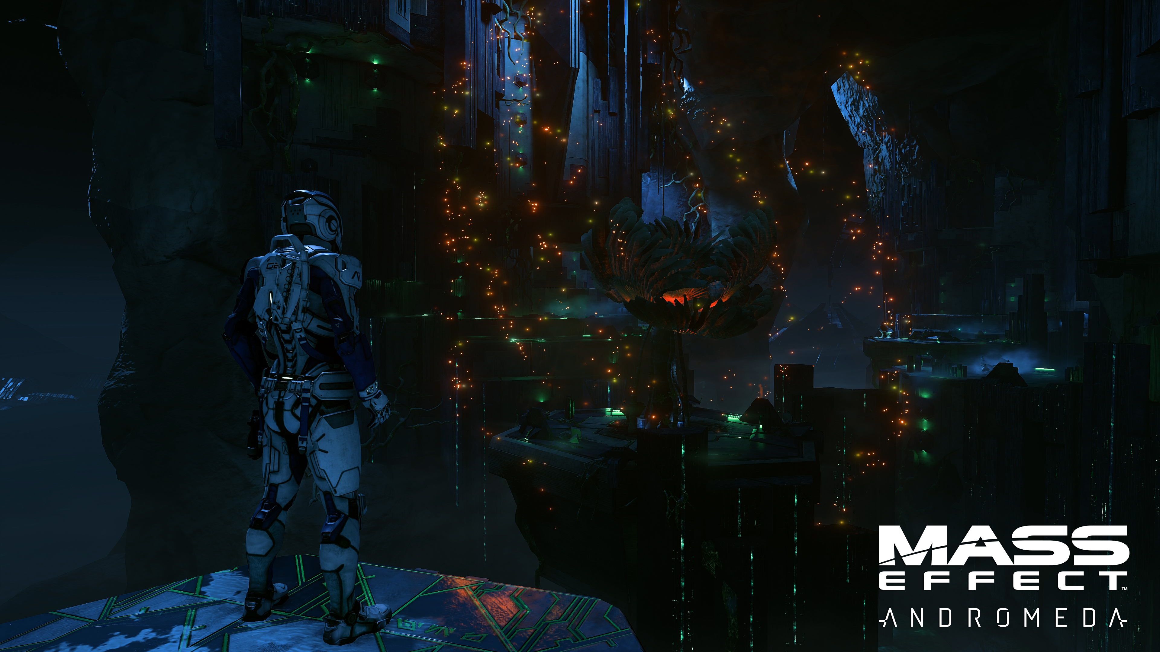 mass effect andromeda gets new 4k screens and teases a november