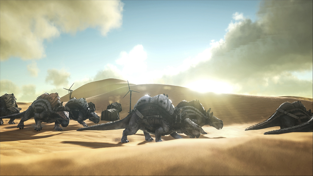 Scorched Earth Is The First Expansion Pack For Ark Survival Evolved