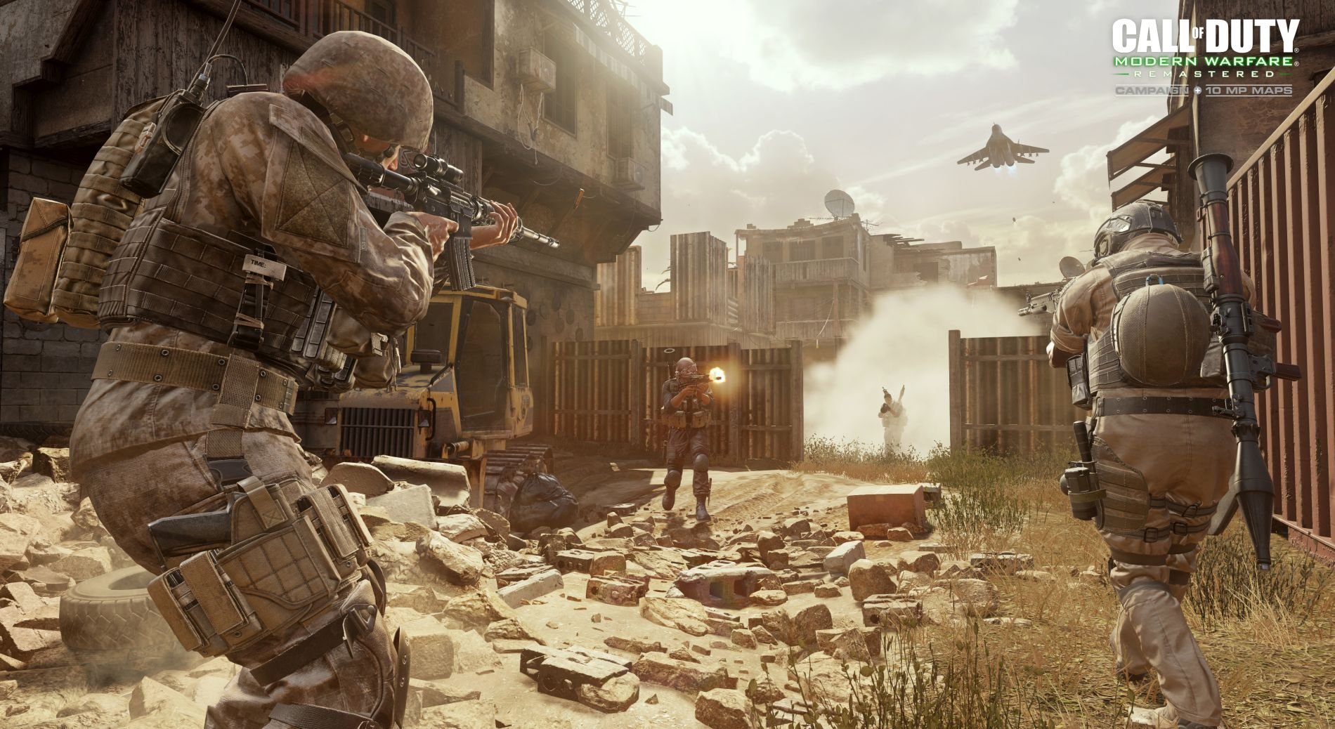 Call of Duty 4: Modern Warfare Remastered contains all 16 original Call Of Duty Maps Multiplayer on