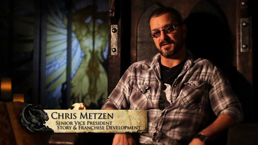Blizzard Entertainment's Chris Metzen