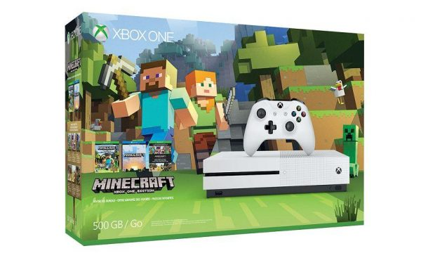 minecraft xbox one s bundle