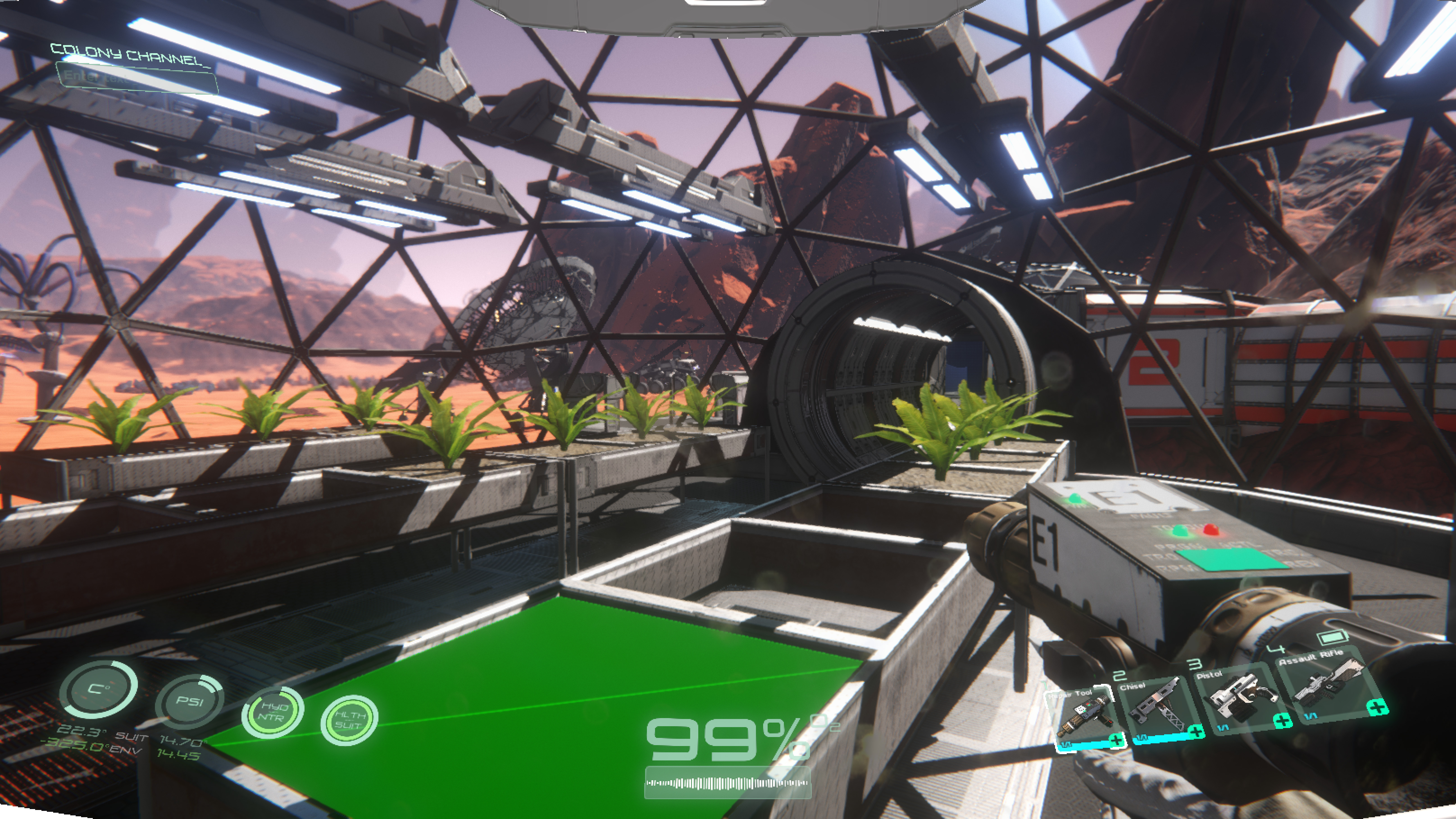 Osiris: New Dawn Looks Like No Manu0027s Sky Mixed With Ark: Survival Evolved