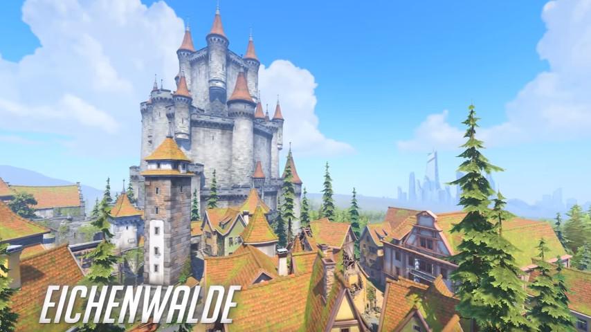 Overwatch Eichenwalde Map