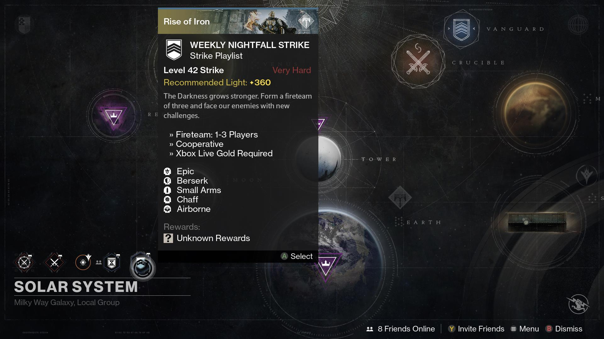 Destiny weekly reset for September 27 – Court of Oryx, Nightfall