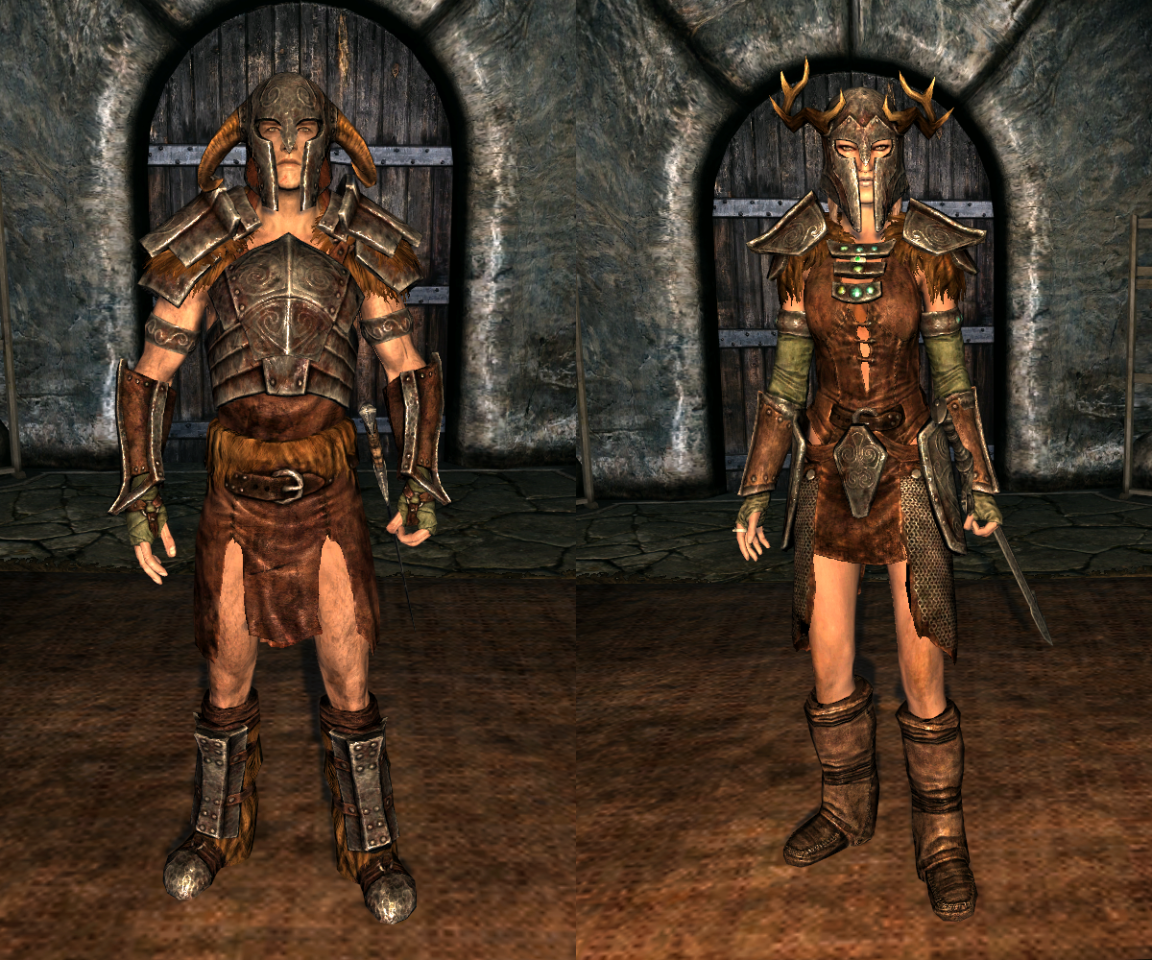 skyrim Ahzidal's Armor