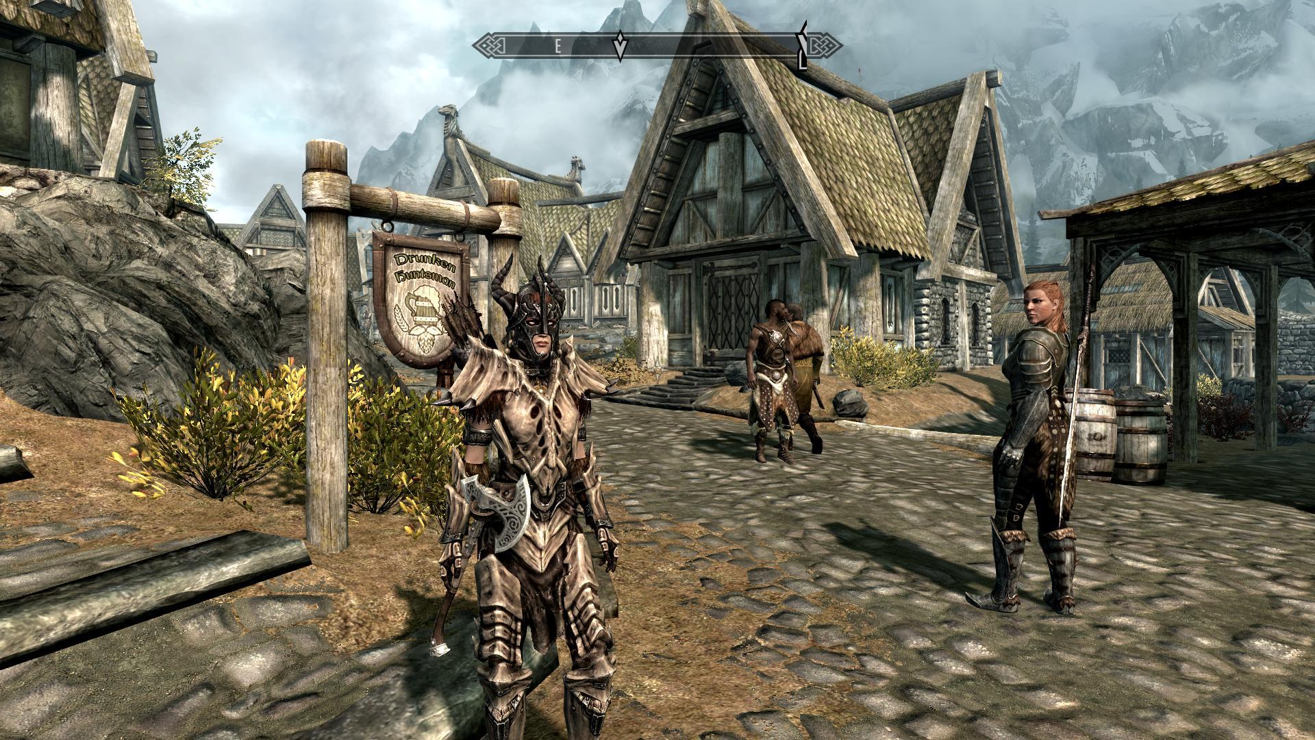 skyrim dragonplate armour