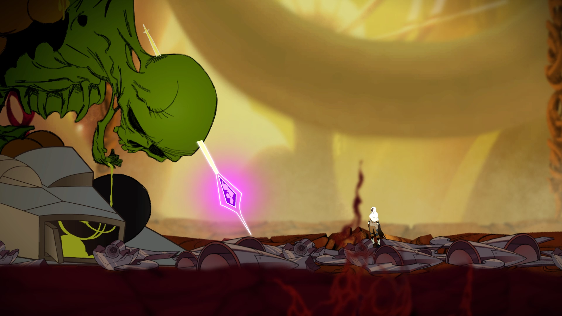 Sundered Is Hand-Drawn Lovecraftian Horror From the Makers Of Jotun