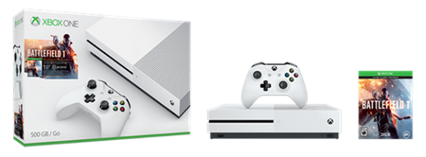 xbox one s bf1 bundle