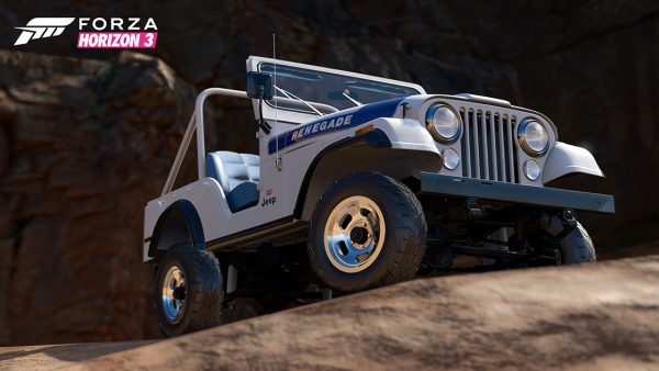 1976 Jeep CJ5 Renegade Forza Horizon 3