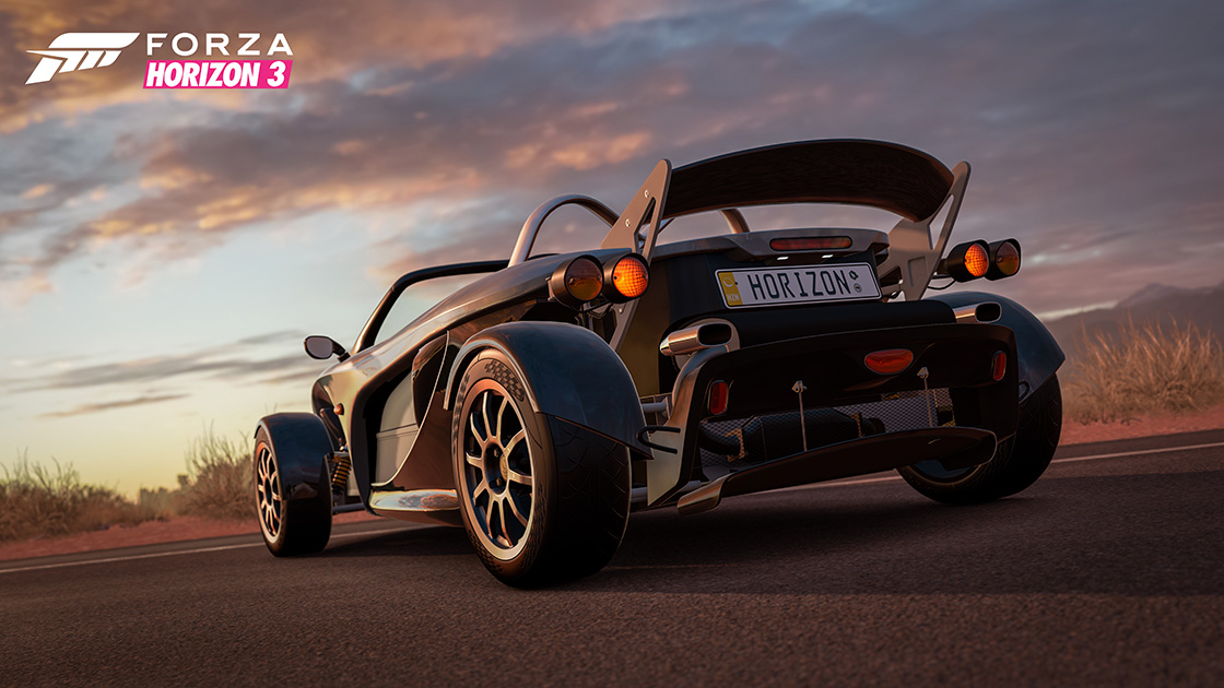 Forza Horizon 3's first car pack is full of smoking hot vehicles