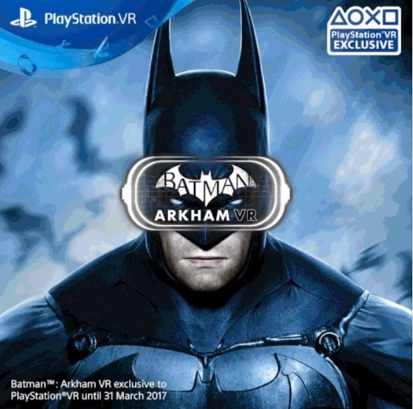 batman arkham vr timed exclusive