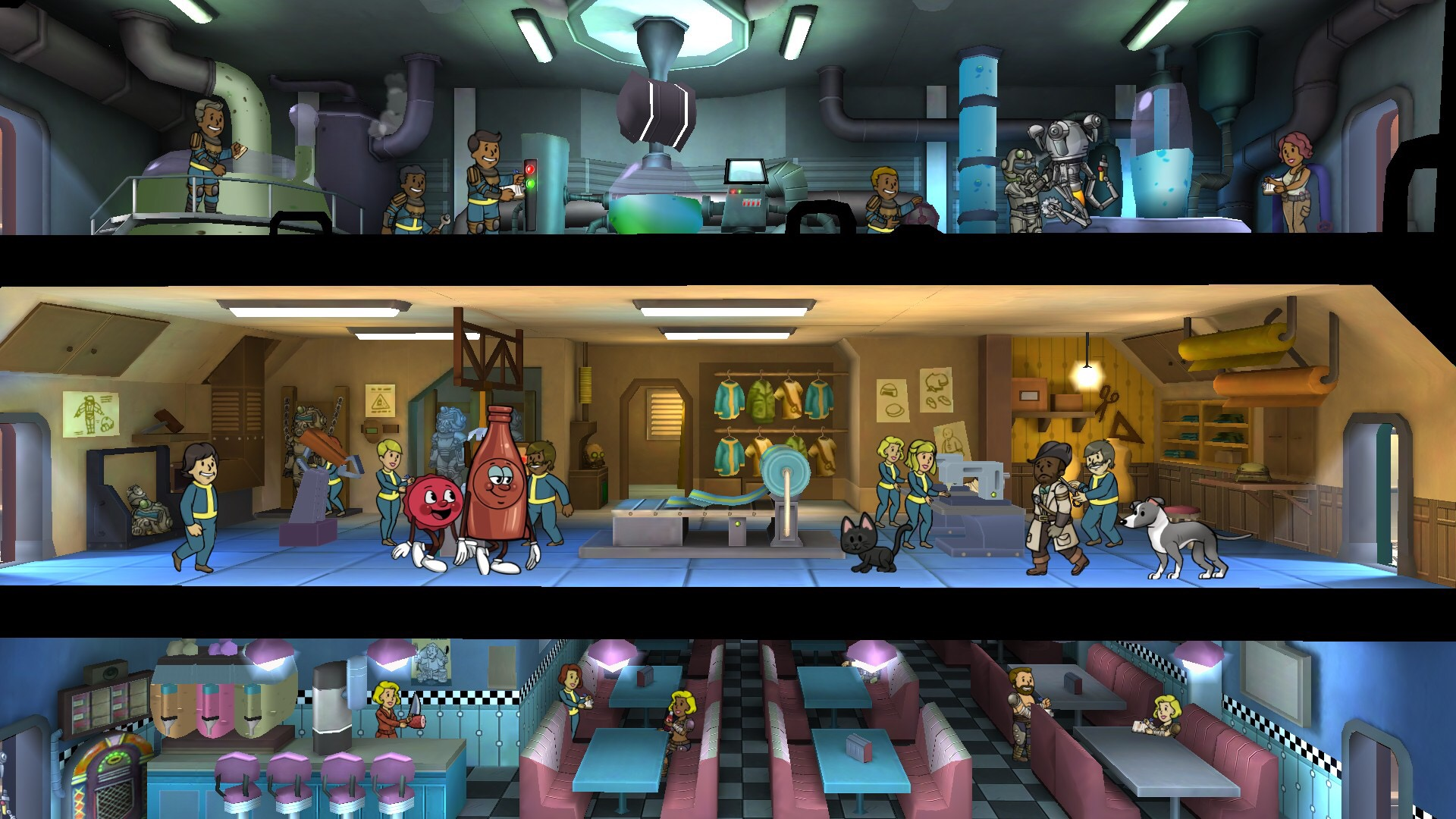 Fallout Shelter Halloween 2020 Quest Fallout Shelter update adds faction themes, holiday celebrations