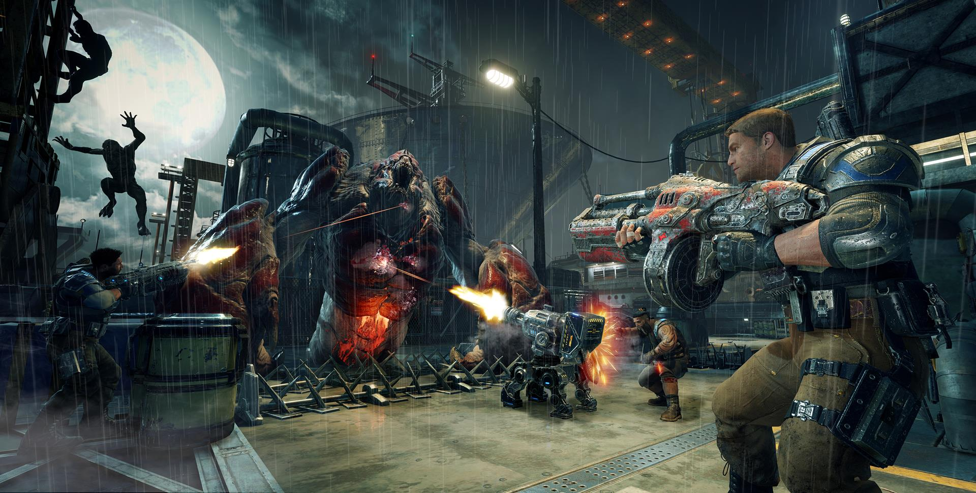 Gears of War 4 Will Add Weapon Balancing, Harsher Penalties for Quitters
