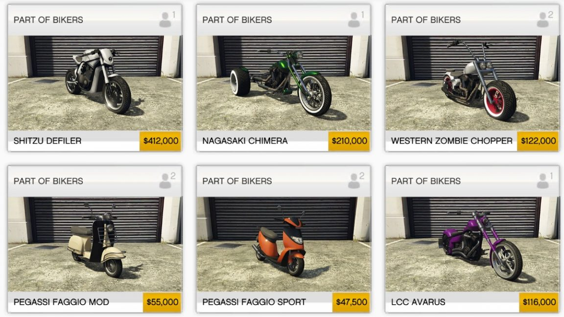 GTA Online Bikers DLC: Just $2.4 million will buy you all the new ...