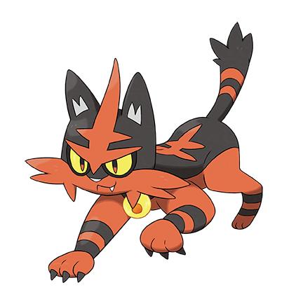 La demo di Pokemon Sole e Luna sarà disponibile dal 18 ottobre. pkmn torracat TechNinja