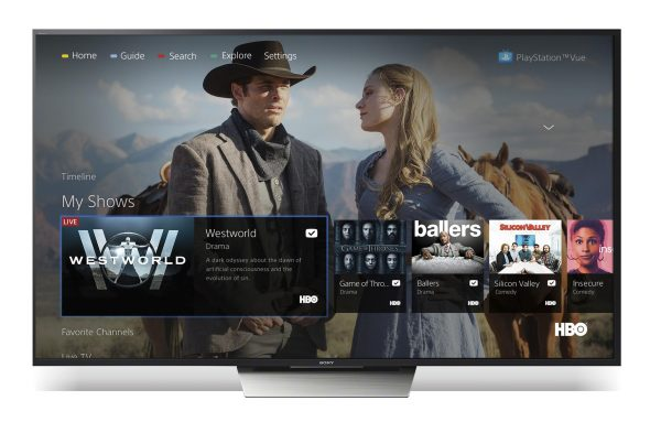 Sony Announces PS Vue for Android TV