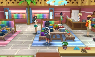 New Pokemon Sun and Moon Screenshots Show Pokemon, Pokemon Center