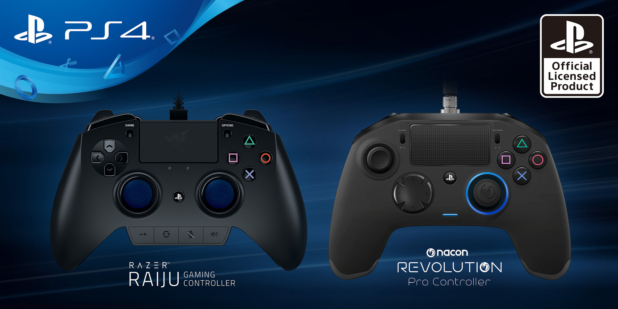 PS4 Getting Two Licensed 'Pro' Controllers