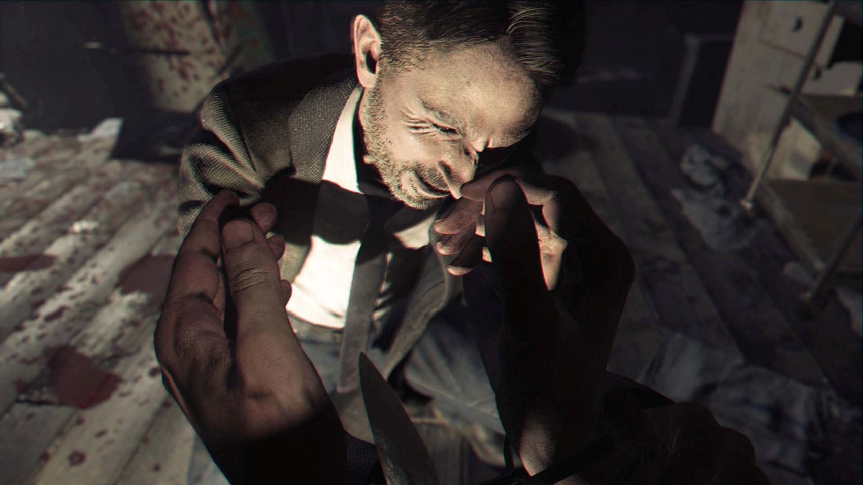 Resident Evil 7 has a relatively modest download size on PS4