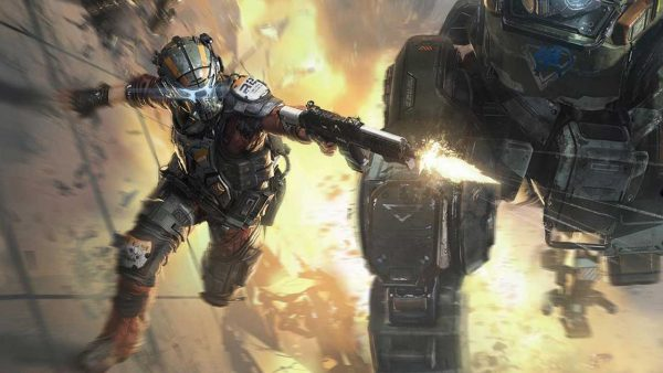 Apex Legends references Titanfall's The Gauntlet.