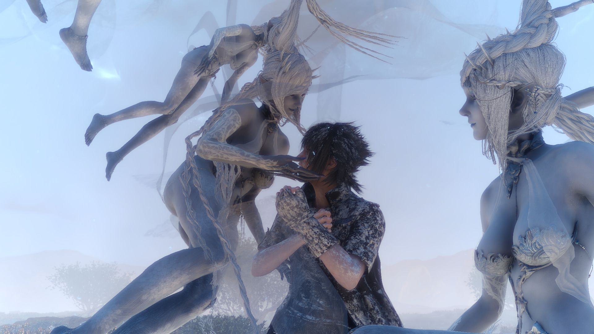 these final fantasy 15 shots give you a look at shiva, altissia and