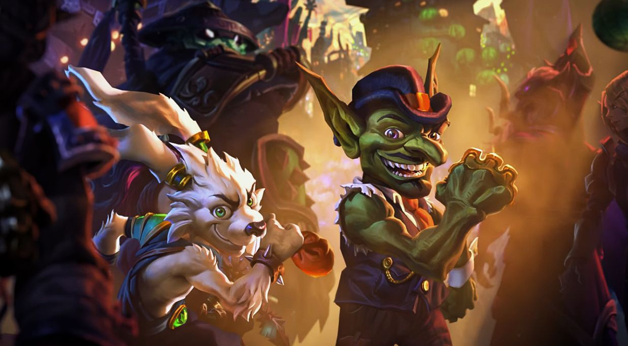 Hearthstone S Next Expansion Is Mean Streets Of Gadgetzan And It S