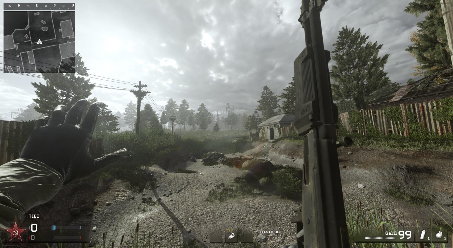 Call of Duty: Modern Warfare Remastered has plenty of hidden weapons