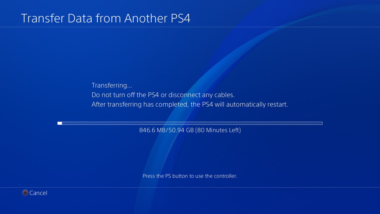 Here's how to format your PS4 drive