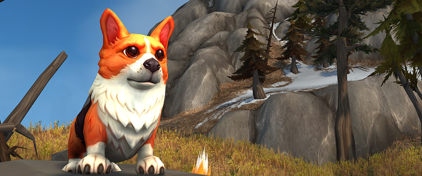 world of warcraft corgi