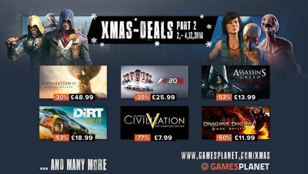 GamesPlanet Xmas 2