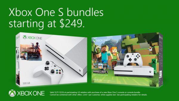 Xbox_50_DecPricePromo_MinecraftBattlefield_green-hero