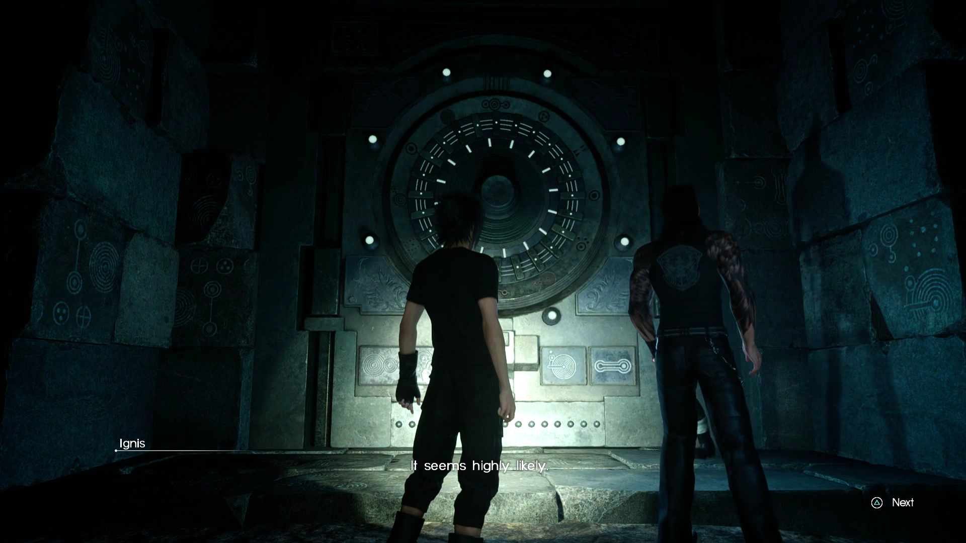Final Fantasy 15 Unlocking the Dungeon Doors & Final Fantasy 15: how to unlock the mysterious dungeon doors - VG247