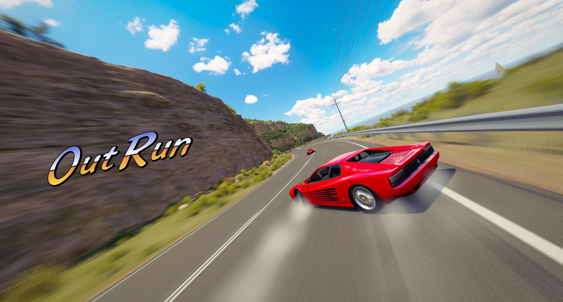 Artist pays tribute to racing franchises using Forza Horizon