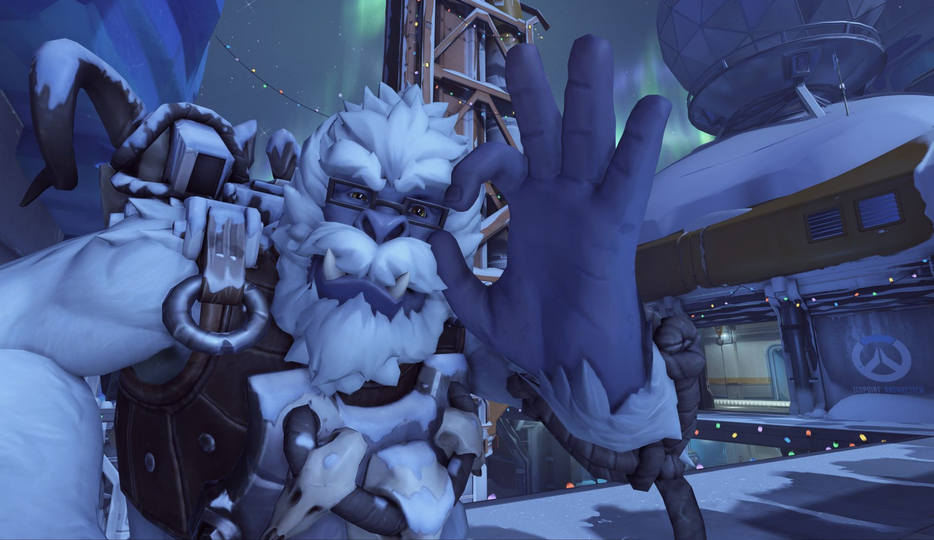 Here's a look at the Overwatch Winter Wonderland skins, maps ...