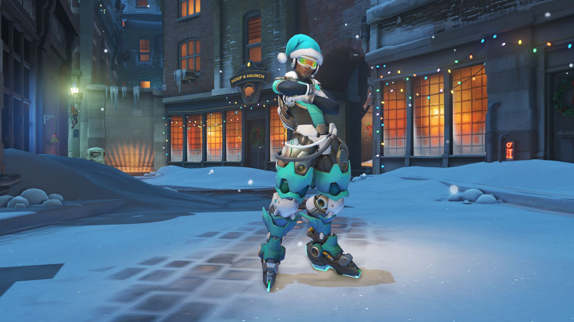 Here\'s a look at the Overwatch Winter Wonderland skins, maps, emotes ...