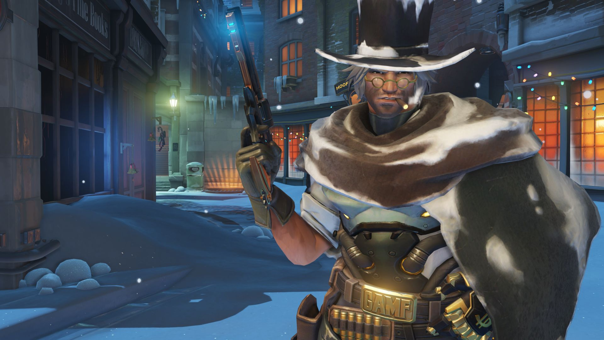 Winston Christmas Skin.Here S A Look At The Overwatch Winter Wonderland Skins Maps